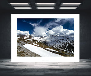 Cycling Art - The Stelvio from Bormio - Cycling photography. Great Cycling Climbs by davidt. Cycling Art for your home, office and pain cave.