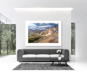 Col du Galibier - Tour de France The Great Cycling Road Climbs by davidt. Gifts for Cyclists.