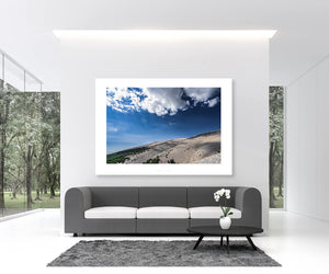 Cycling Art - Gifts for Cyclists - Mont Ventoux - Fine art photography prints. On of the Great Cycling Road Climbs for your home, office and pain cave by davidt. Make a house a home.