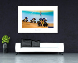 Vive la France - davidt cycling photography - Canvas
