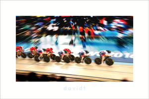 The Catch - davidt cycling photography - Print