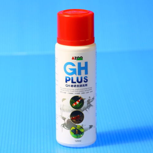 GH PLUS 120ml for crystal red shrimp fish tank minerals hatchability Improve