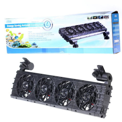 ISTA Aquarium Energy Saving Arrayed Cooling Fan ColdWind for 90~120cm fish tank