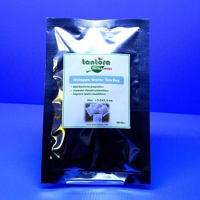 Tantora Catappa Tea bag 20pcs - Indian Almond Leaf Ketapang Bee Shrimp fish IAL