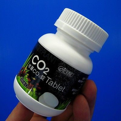 ISTA CO2 Tablet Carbon dioxide 100 TAB Carbon dioxide - Planted Diffuser Tablets