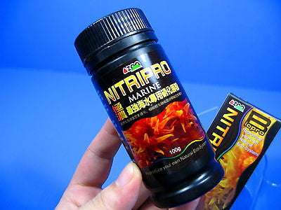 MARINE NITRIPRO FILTER BACTERIA - reef Soft Coral fish