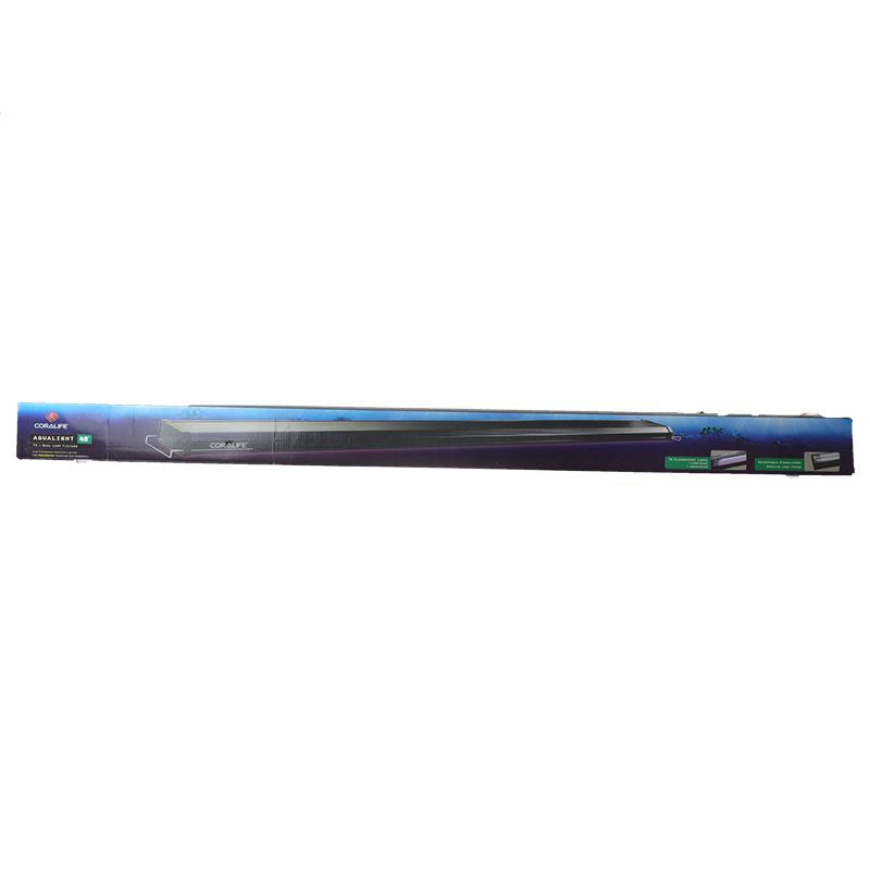 "Goaqua88 Coralife Aqualight T5 Dual Fluorescent Lamp Fixture - Freshwater Aquariums | 48"" Long"