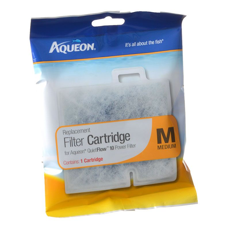 Goaqua88 Aqueon QuietFlow Replacement Filter Cartridge | Medium (1 Pack)