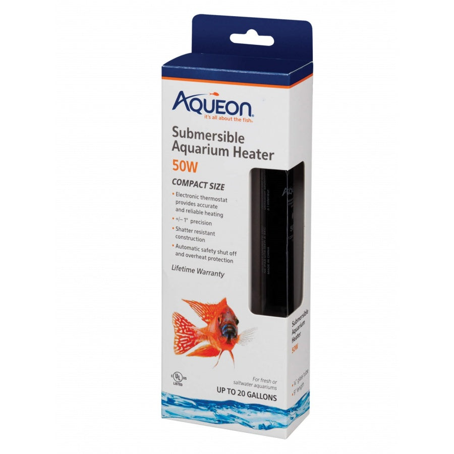 Goaqua88 Aqueon Submersible Aquarium Heater | 50 Watt