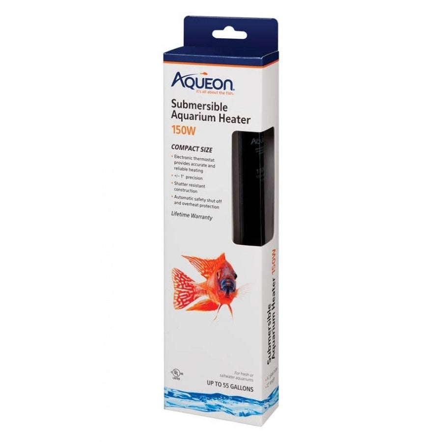 Goaqua88 Aqueon Submersible Aquarium Heater | 150 Watt
