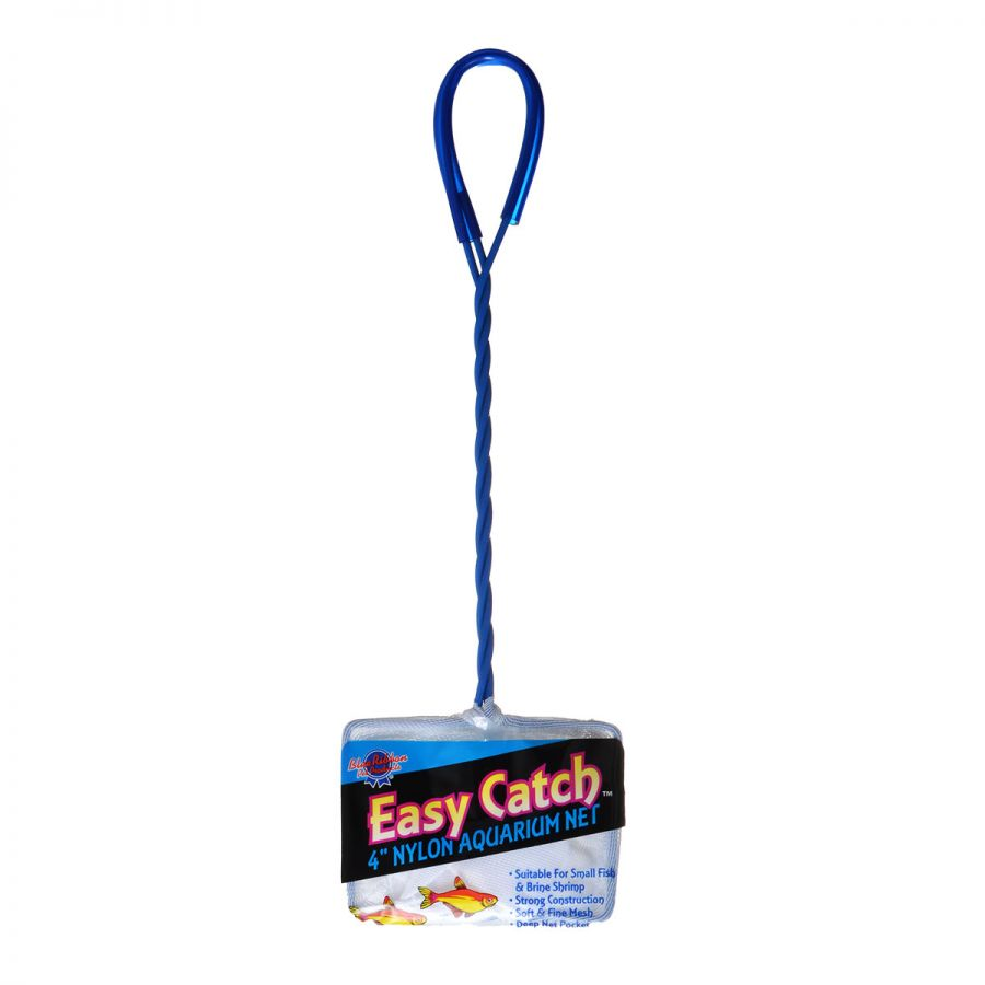 "Goaqua88 Blue Ribbon Easy Catch Fine Mesh Fish Net | 4"" Wide Net"