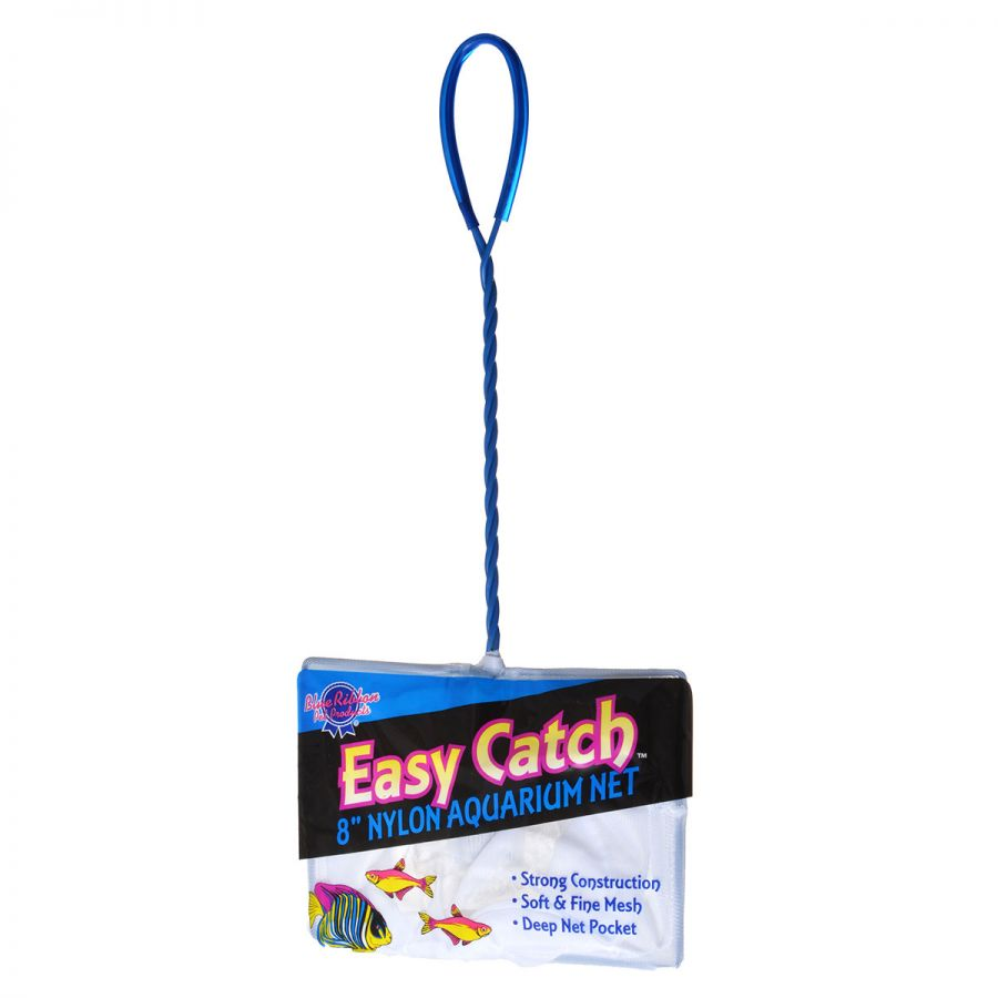 "Goaqua88 Blue Ribbon Easy Catch Fine Mesh Fish Net | 8"" Wide Net"