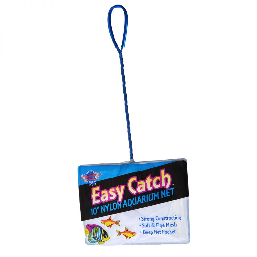 "Goaqua88 Blue Ribbon Easy Catch Fine Mesh Fish Net | 10"" Wide Net"