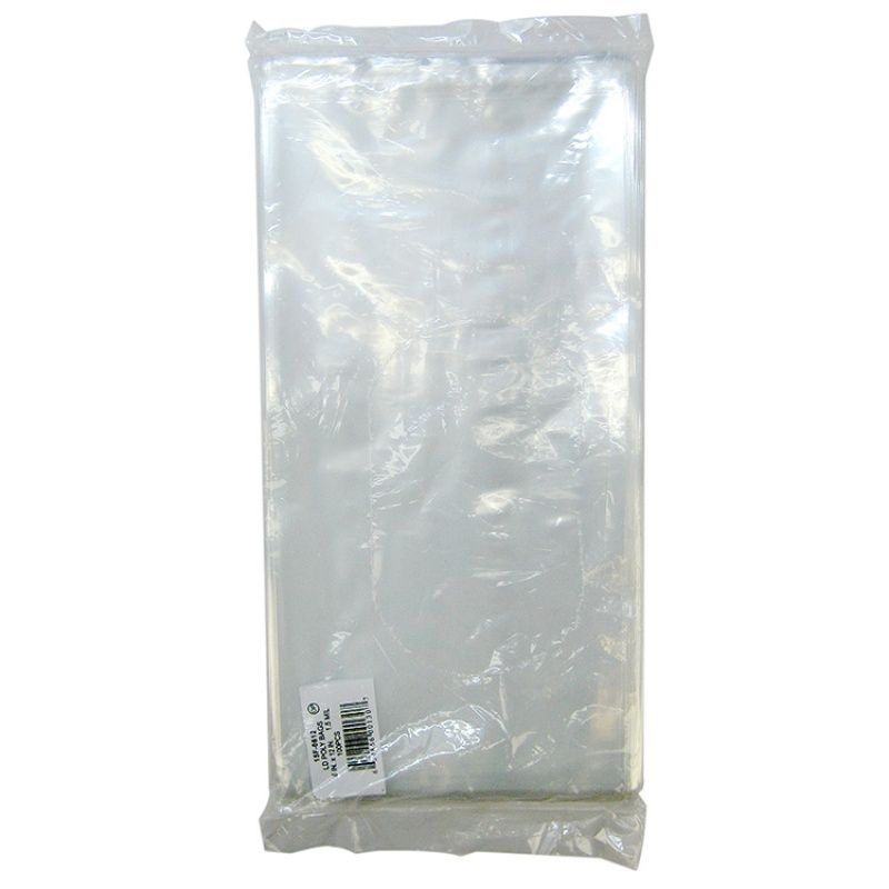 "Goaqua88 Elkay Plastics Flat Poly Bags | 12"" Long x 6"" Wide (.0015MM) - 100 Pack"