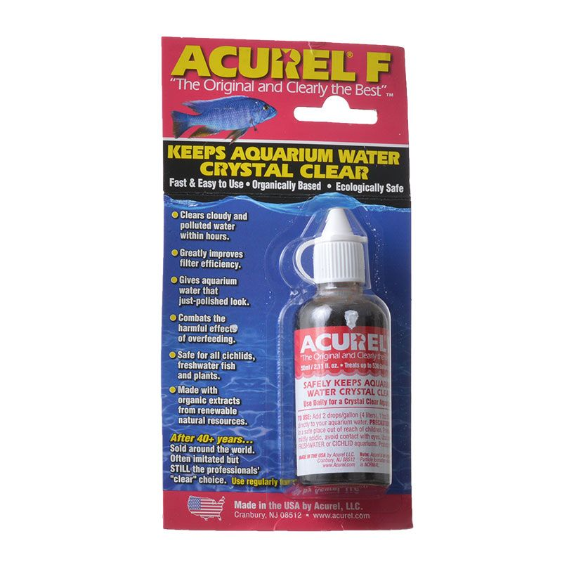 Acurel F Aquarium Clarifier | 50 mL