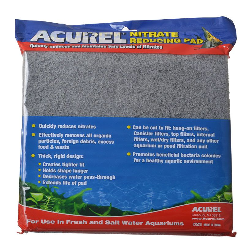 "Acurel Nitrate Reducing Pad | 18"" Long x 10"" Wide"