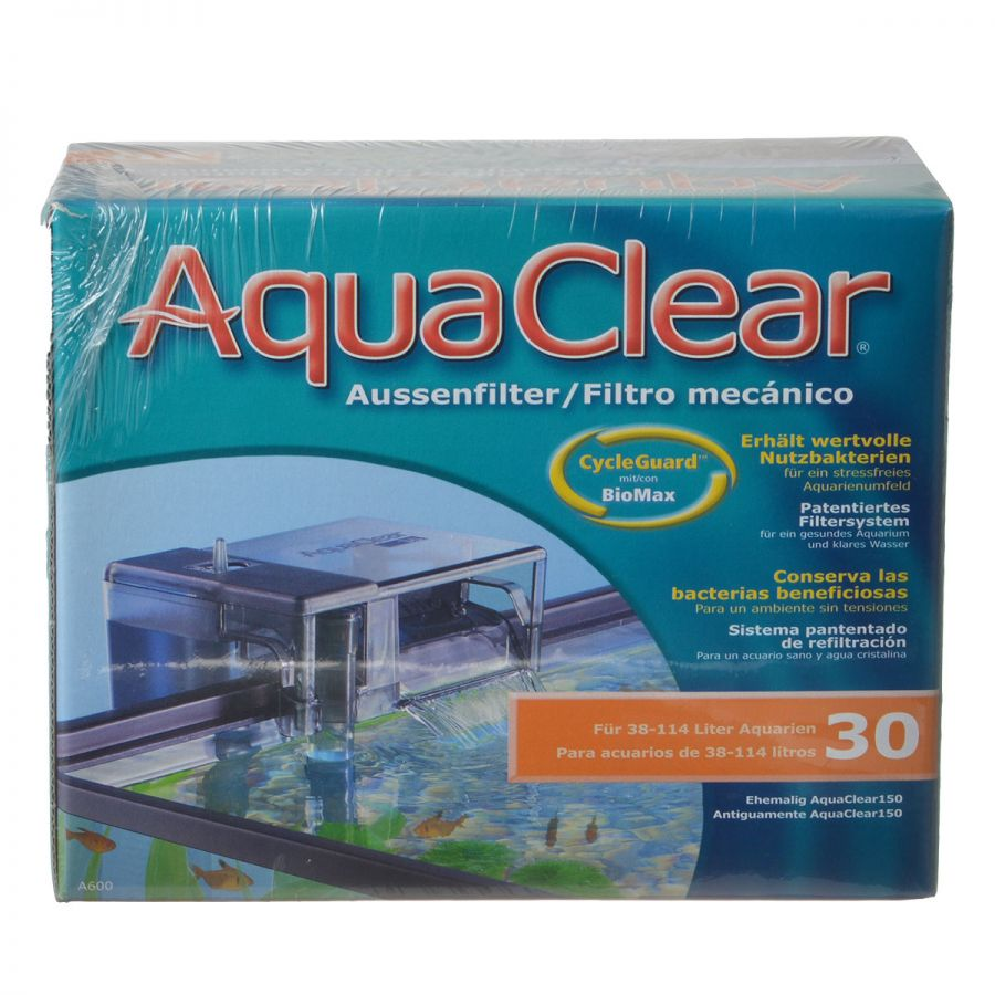 Goaqua88 Aquaclear Power Filter | Aquaclear 30 (150 GPH - 10-30 Gallon Tanks)
