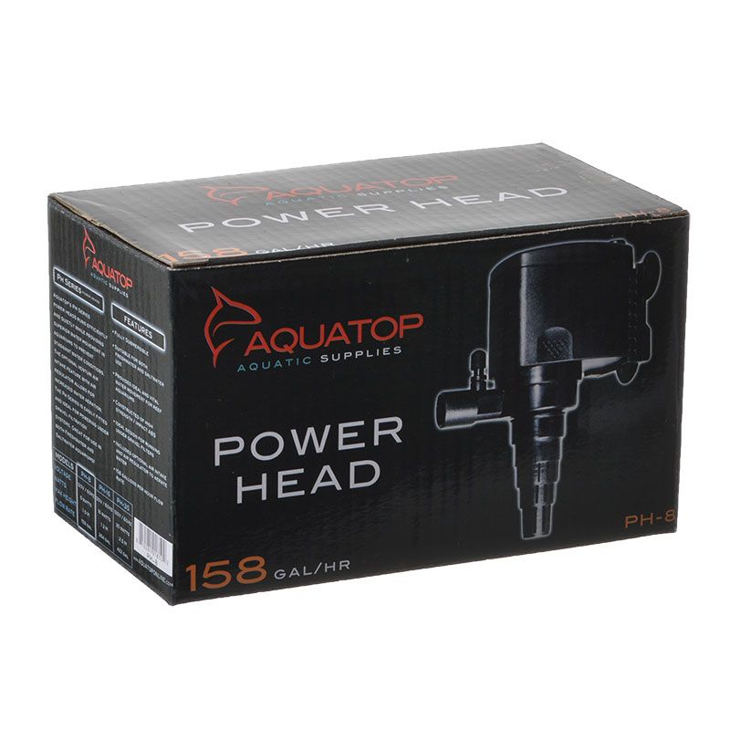 Goaqua88 Aquatop TruAqua PH Series Power Head | PH-8 - 158 GPH - (8 Watt)