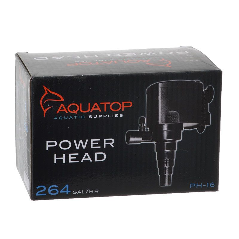 Goaqua88 Aquatop TruAqua PH Series Power Head | PH-16 - 264 GPH - (16 Watt)