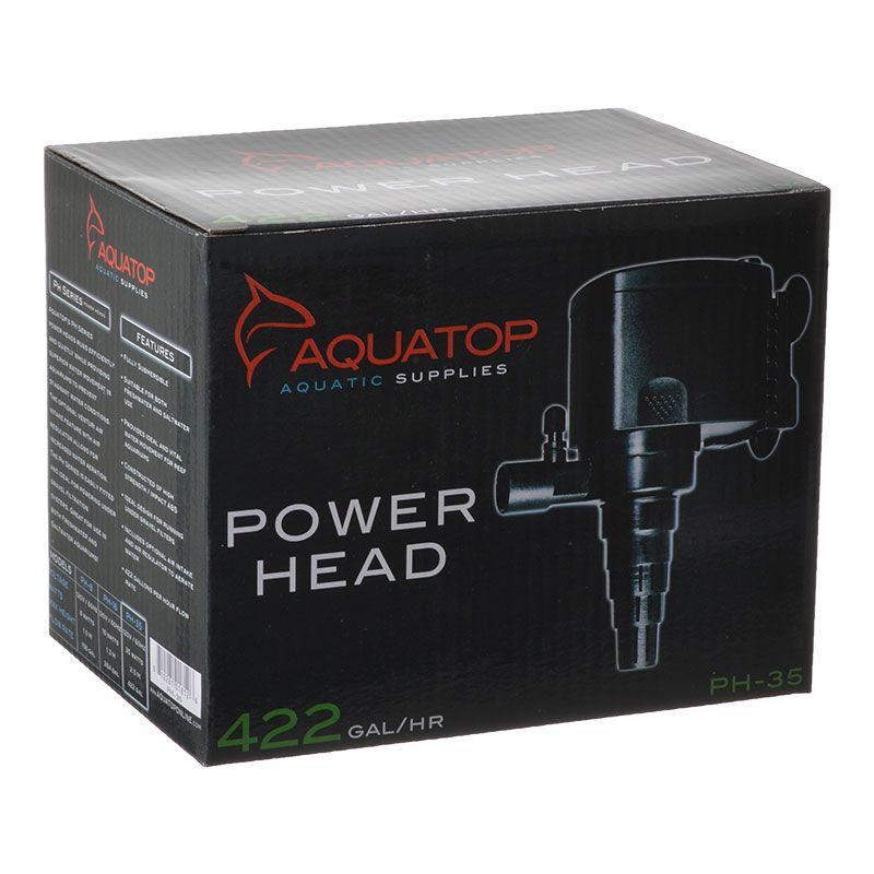 Goaqua88 Aquatop TruAqua PH Series Power Head | PH-35 - 422 GPH - (35 Watt)