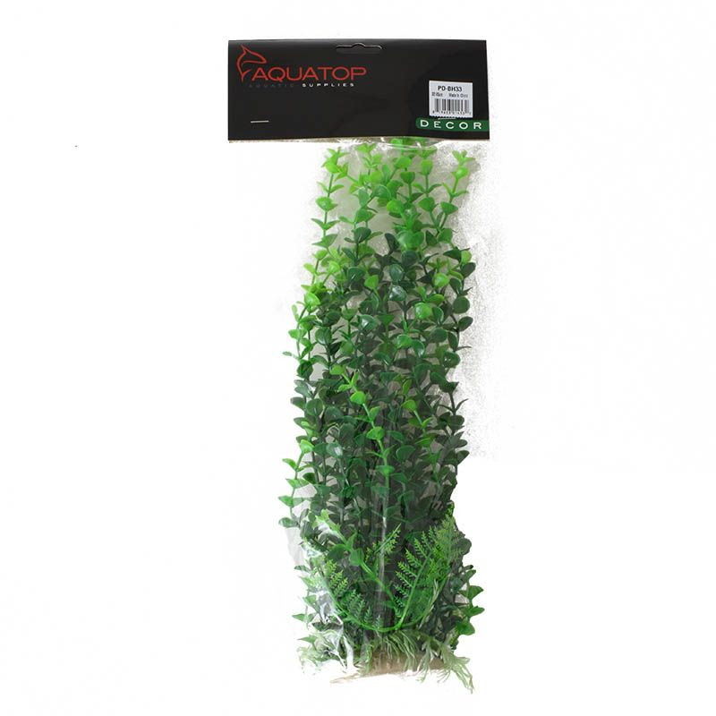 "Goaqua88 Aquatop Elodea Aquarium Plant - Green | 12"" High w/ Weighted Base"