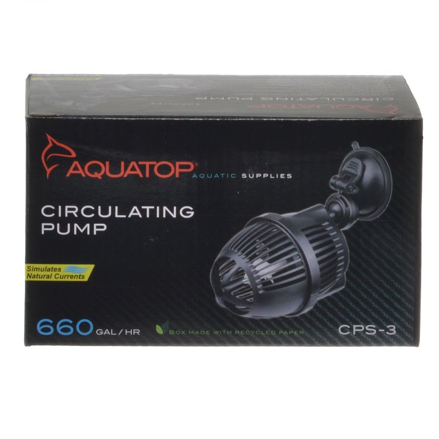 Goaqua88 Aquatop CP Series Circulating Pump | CPS-3 - 660 GPH - (3 Watt)