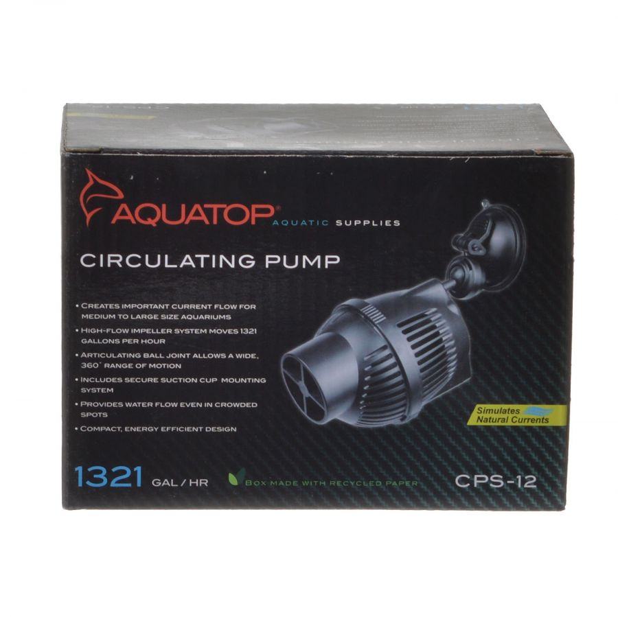 Goaqua88 Aquatop CP Series Circulating Pump | CPS-12 - 1,321 GPH - (12 Watt)