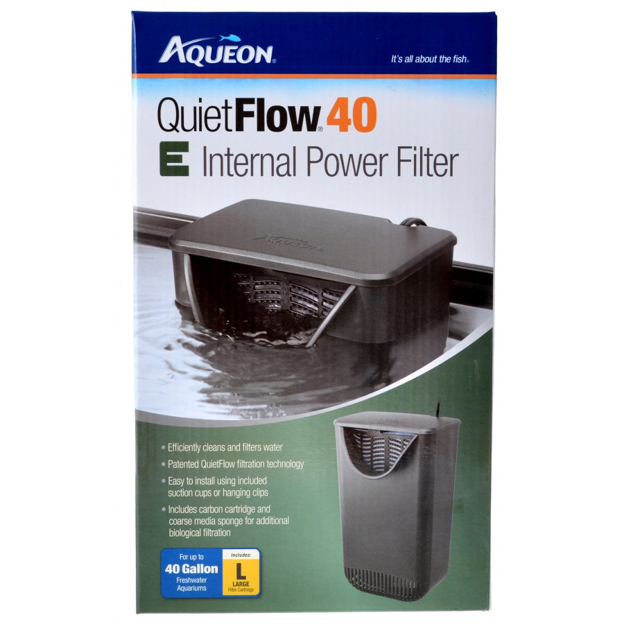 Goaqua88 Aqueon Quietflow E Internal Power Filter | 40 Gallons