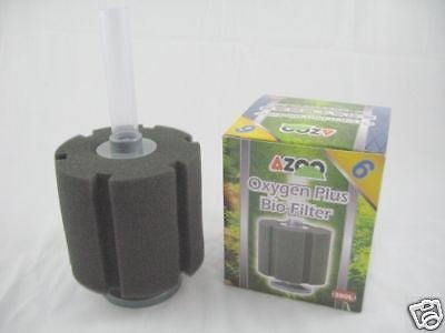 Aquarium Sponge Filter UP TO 110 gallons - Oxygen Plus