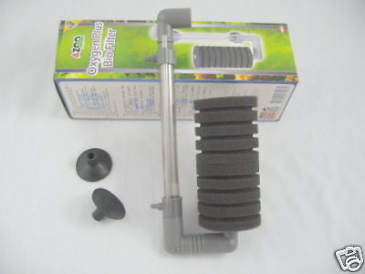 Aquarium Sponge Filter UP TO 15 gallons - Oxygen Plus