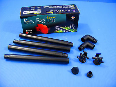 "Rain Bar Unit for 23-30"" fish tank Outflow Pipe 12/16mm"