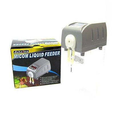 Micom Liquid Feeder feeding dosing pump for aquarium water plant reef Soft Coral
