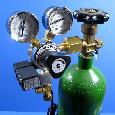 Co2 Working Pressure Adjustable Solenoid Regulator 100~240v - Diffuser Atomizer