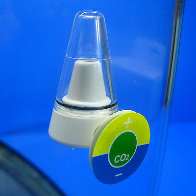 CO2 Indicator All Angle View- Drop Checker LONG TERM MONITOR test Real time kits