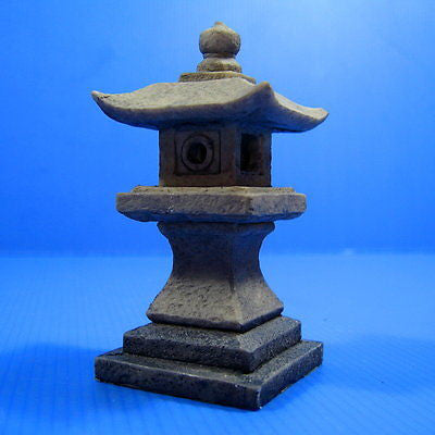 2pc Japanese garden Decoration 10cm- Aquarium Ornament Decor poly fish tank