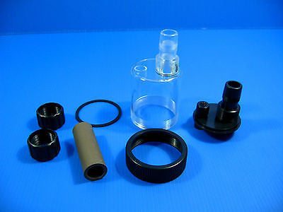 Super co2 diffuser 12/16mm ATOMIZER 15~150gal / 60~600L plants tank 4/6mm tubing