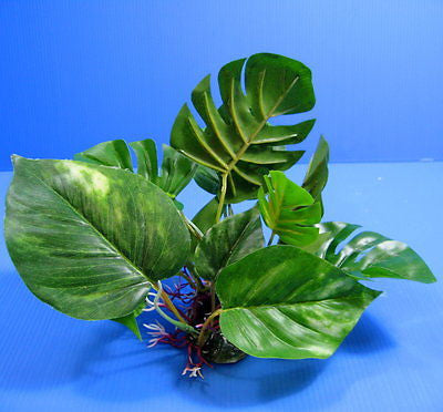 3D Aquarium PLASTIC PLANTS 30cm Ornament fish tank Decoration wayer plant nana