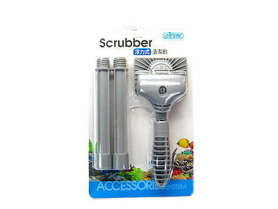 ISTA Scrubber Algae brush 15~41cm - aquarium Cleaning fish plant tank Cleaner
