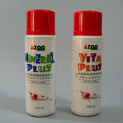Mineral Plus & Vita Plus | Crystal Red Shrimp Cherry Bee