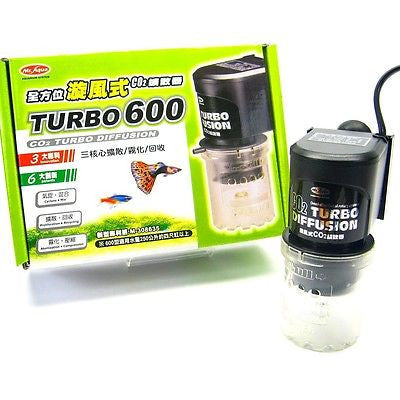Aquarium CO2 Turbo Diffuser for 250L UP plants tank Diffuseion ATOMIZER SYSTEM
