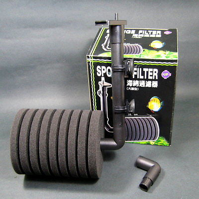 150gal Aquarium Biochemical SPONGE FILTER - pump TANK l
