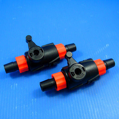 2x Control Valve 12/16mm Quick Disconnect TAP - HOSEING FILTER Flow Switch hose