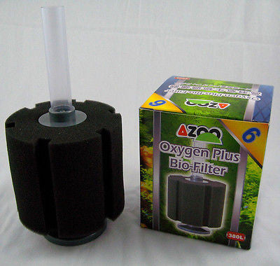AZOO #6 Aquarium Sponge Filter 110 gallons - fish tank