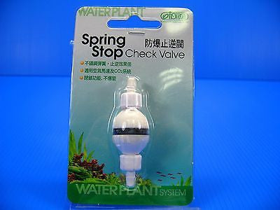 ISTA Spring Stop check valve for aquarium co2 Diffuser bubble counter air pump
