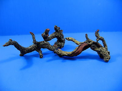 Tree trunk SET Aquarium Ornament Driftwood poly resin L+S - Decor root Decaying