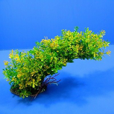 Shapeable Aquarium PLASTIC PLANTS Ornament Decor #050