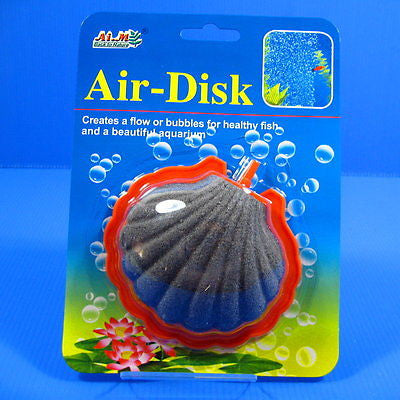 AIM AQUARIUM SHELL AIR STONE 10.6cm - airstone 4/6mm tube Bubble wall diffuses