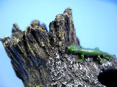 "Decaying Tree Aquarium Ornament 6"" Drift Wood Trunk pet"