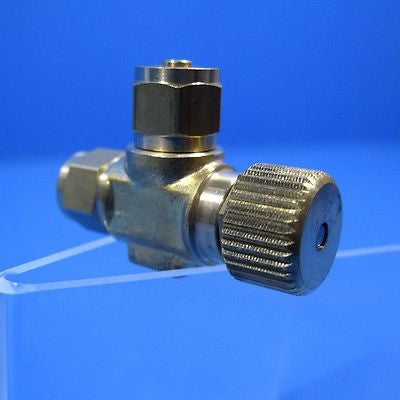 CO2 REGULATOR Brass for 4/6mm air tubing Needle Valve Pressure Diffuser PRECISE