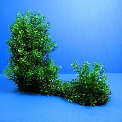 "3D Aquarium PLASTIC PLANTS 15""L Ornament fish tank Decoration water plant"